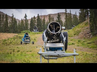 WATCH | Snow guns are out at Arapahoe Basin