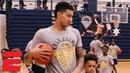 Kyle Kuzma helping Flint Michigan with free basketball camp for kids NBA
