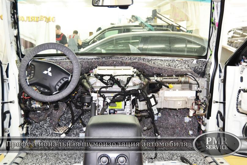 Шумоизоляция Mitsubishi Pajero, изображение №5