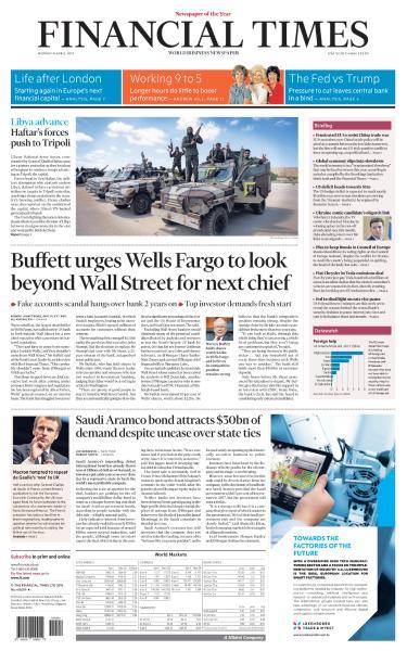 Financial Times USA  April 8 2019