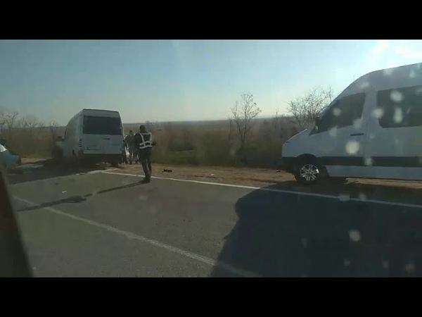 ДТП на трассе Одесса - Рени/ видео Типичный Аккерман Белгород-Днестровский
