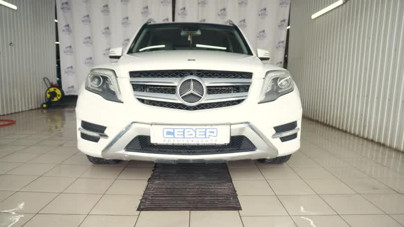 Ремонт и окраска деталей кузова Mercedes Benz GLK