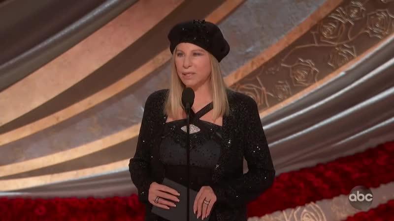 Barbra Streisand introduces Oscars 2019 nominee for Best Picture BLACKkKLANSMAN.