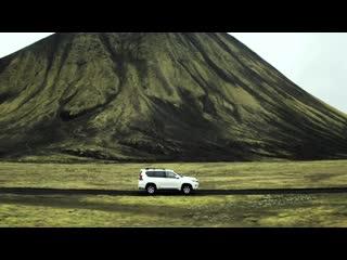 Toyota Land Cruiser Prado в Исландии