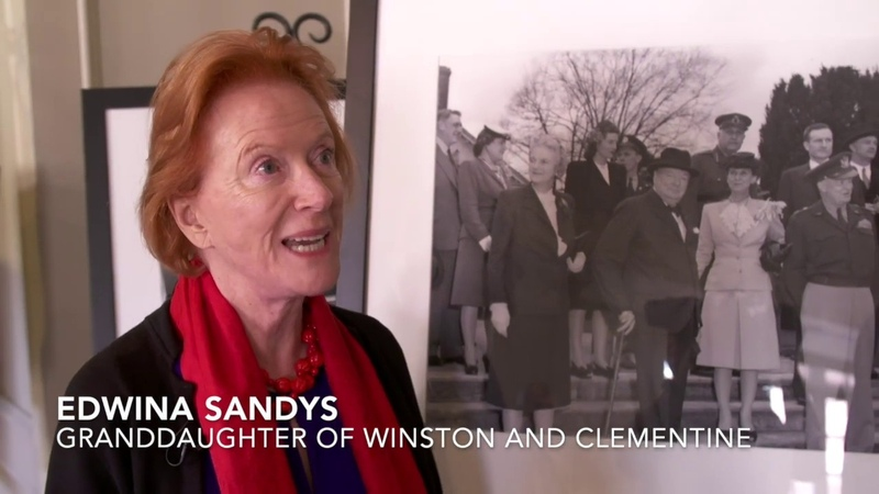 Edwina Sandys on Her Grandparents Winston and Clementine Churchill