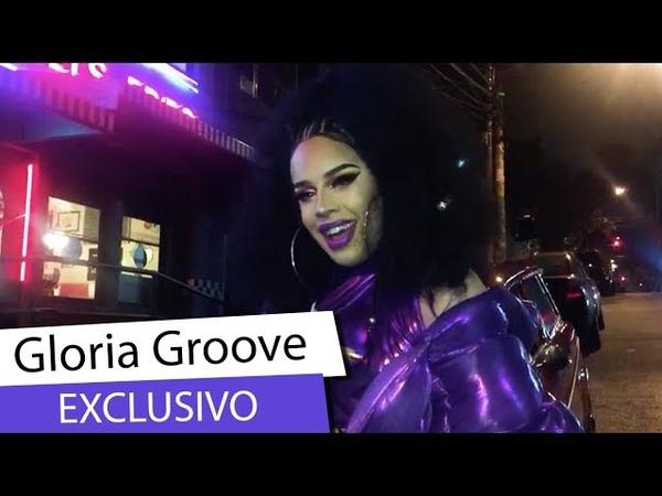 EXCLUSIVO Gloria Groove mostra seu figurino para próximo clipe