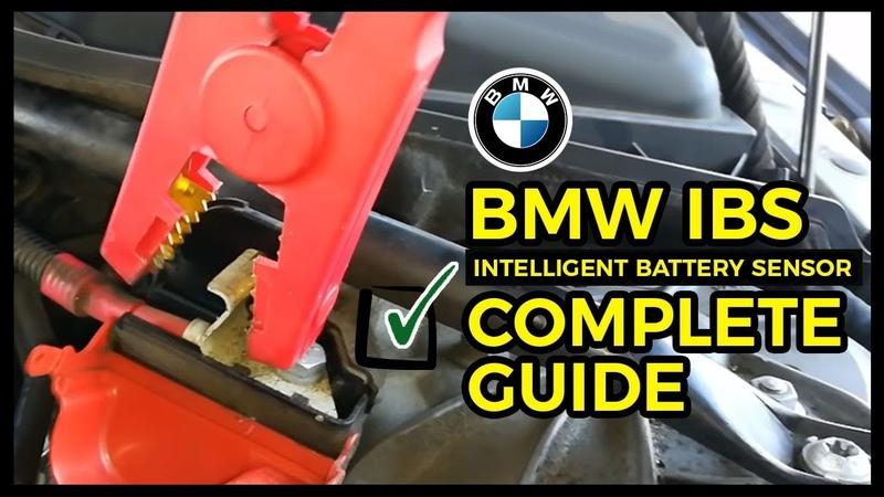 BMW NO START NO CRANK Intelligent Battery Sensor BMW IBS FIX HAPPY ENDING SOLUTION