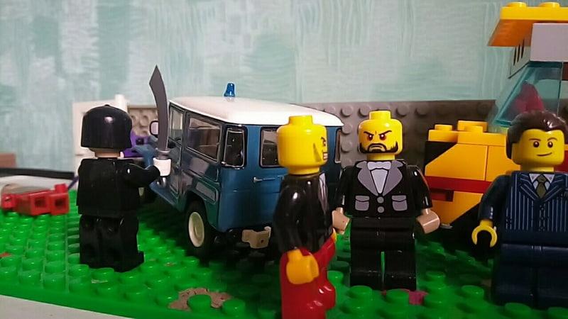 Джокер украл президента Лего мультик Бэтмен и Джокер