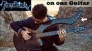 Fade to Black - (Metallica) - Harp Guitar Cover - Jamie Dupuis