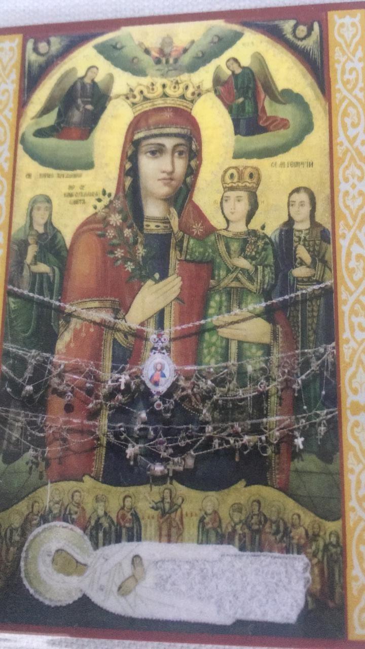 Чудотворная икона Богородицы Благоуханный цвет и мощи Святого Алексия Южинского прибудут в наш храм завтра, 29 сентября в 16-00 и будут находиться у нас по 06 октября 2019-го года.