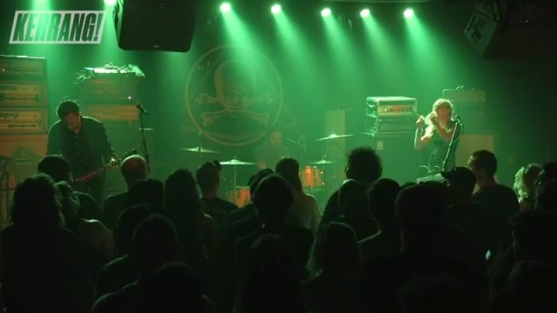 Spotlights perform at Saint Vitus Bar in Brooklyn, NY, opening for the mighty Pallbearer.