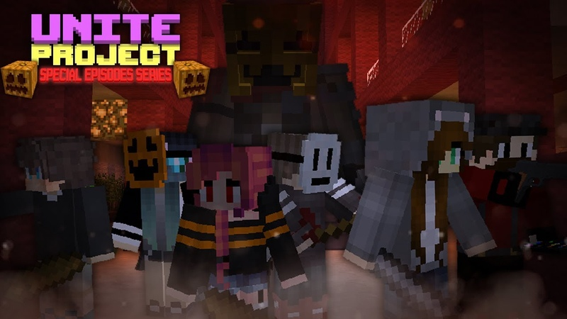 ТРЕЙЛЕР Unite Project Special Episodes Series Ep 1 CustomNpc Minecraft Map