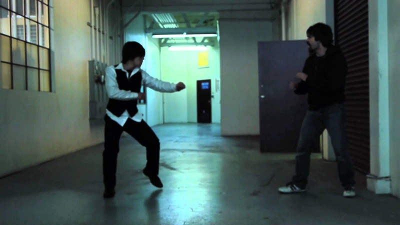 Wheels on Meals Jackie Chan style Fight Scene Hand Over Fist The Stunt People