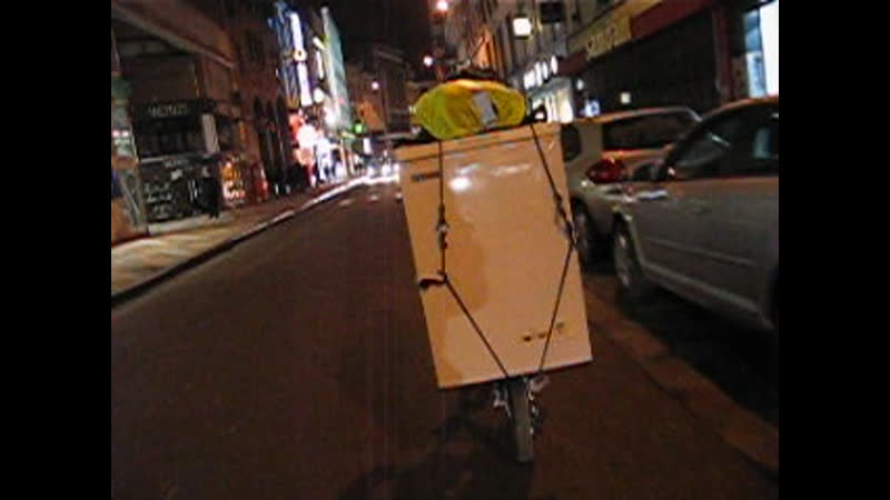 To carry refregirator by by plyable bike is the alternative solution3