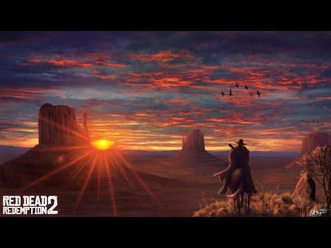 Прохождение Red Dead Redemption 2 1.Ограбление поезда