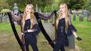 The Hearse Song The Worms Crawl In Harp Twins Camille and Kennerly