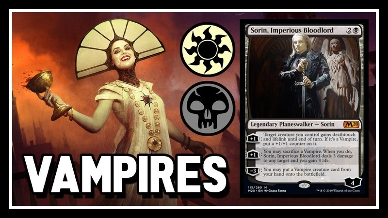 🧛♂️ BW Vampire Aristocrats 【 w/ NEW Sorin 】 ► MTG Modern Gameplay ◄