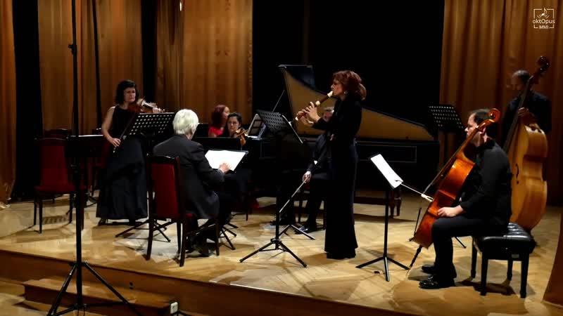 Johann Gottlieb Graun Double concerto in C major GraunWV Cv XIII 96 WilG 3 Savaria Baroque Orchestra Pál Németh