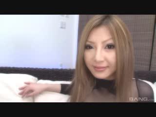 Shiho kanou [uncensored, asian, brunette, creampie, double blowjob, facial cumshot, internal cumshot, lingerie]
