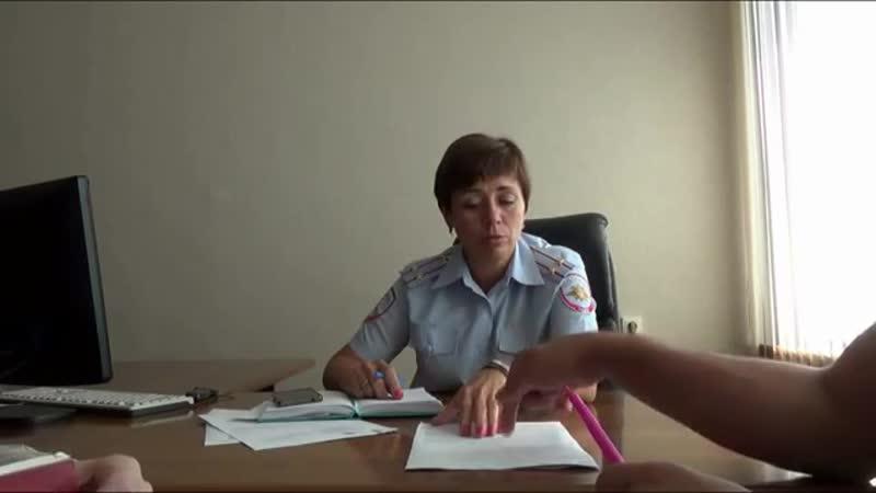 Начальник штаба частной ОВД отвечает на вопросы гражданина СССР.
