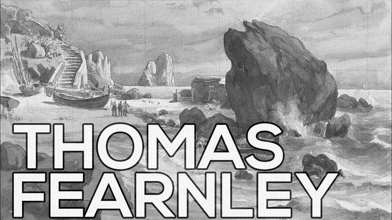 Thomas Fearnley A collection of 281 sketches HD