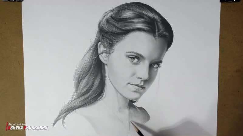 Красавица и чудовище. Невероятный портрет карандашом (1)