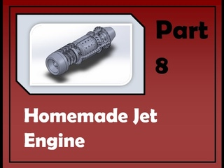 Homemade Jet Engine Part 8 (axial flow)