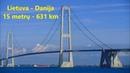 Lietuva (Lithuania/Nida) - Danija (Denmark) - 631 Km 📣 Matomumas?! Visibility?! Видимость?!