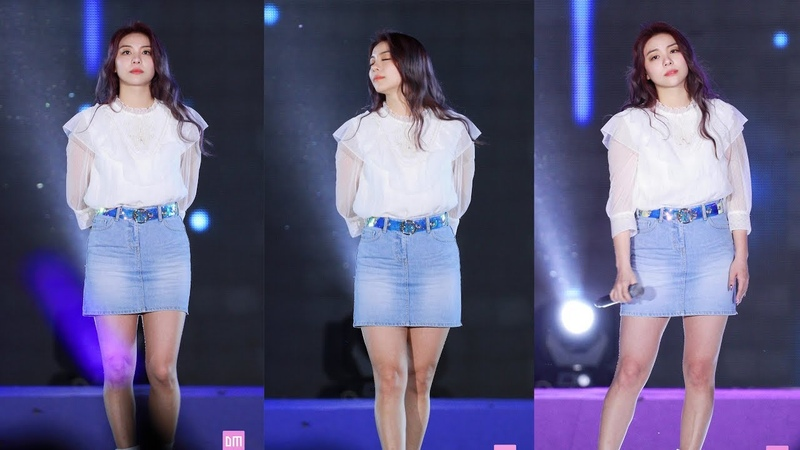 [FANCAM] 190531 Ailee - I Will Go To You Like the First Snow @ Hongcheon Gangwon-do public hall opening ceremony