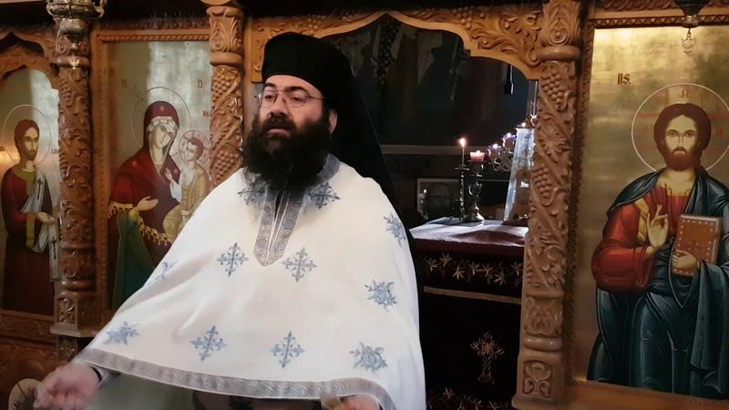 Ieromonahul Macarie Banu - Predică la Duminica vindecării slăbănogului din Capernaum