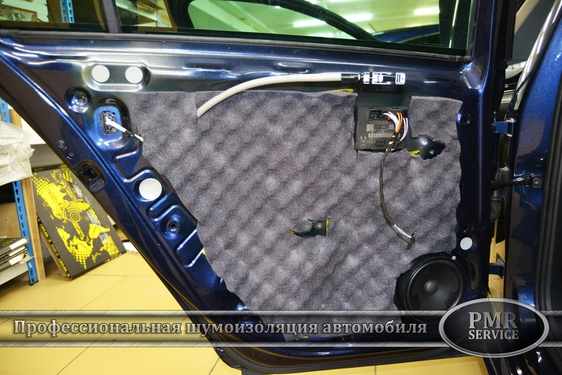 Шумоизоляция Volkswagen Passat, изображение №10