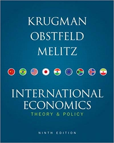 Paul R. Krugman- Maurice Obstfeld- Marc Melitz - International Economics Theory and Policy (9th Edition)