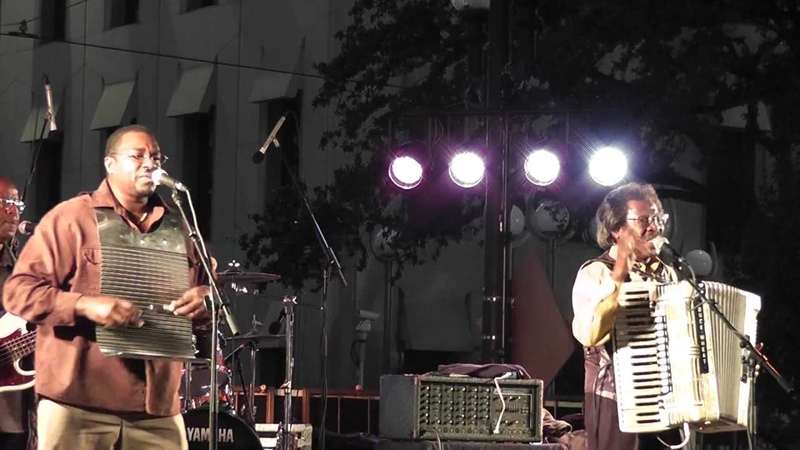 Buckwheat Zydeco - Hard to Stop (Harvest the Music, Nov. 2, 2011)