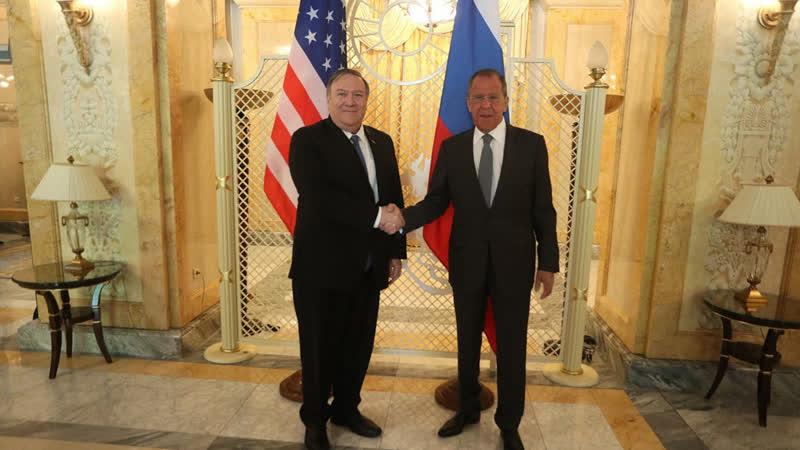 Переговоры С.В.Лаврова и Государственного секретаря США М.Помпео