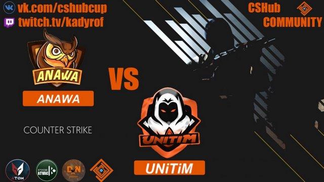 DXN CUP MARCH END UNiTiM vs ANAWA bo1 de_dust2 Комментаторы: R1ki reventoN