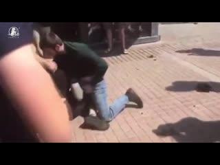 На пикете против Newsone случилась драка