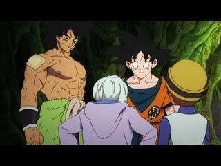 GOKU AYUDA A CHIRAI Y A LEMO PARA SOBREVIVIR  DRAGON BALL SUPER BROLY HD (CASTELLANO)