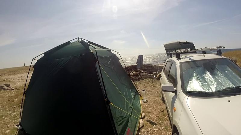 Обзор шатра Tramp bungalow lux
