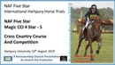 International Hartpury Horse Trials CCI 4*S Cross Country Competition