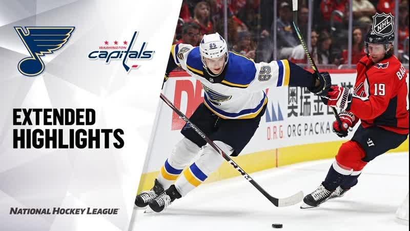 St. Louis Blues vs Washington Capitals preseason game, Sep 18, 2019 HIGHLIGHTS HD