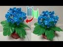 DIY Cara membuat Bunga Hydrangea dari plastik kresek How to make Hydrangea from plastic bag