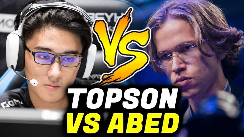ABED vs TOPSON - EG vs OG Midlaner Battle