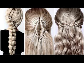10 простых плетений кос Hairstyle Transformations