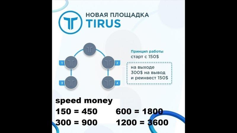 Новинка от Тайрус-инвест-фонда короткая матрица - Speed Money.