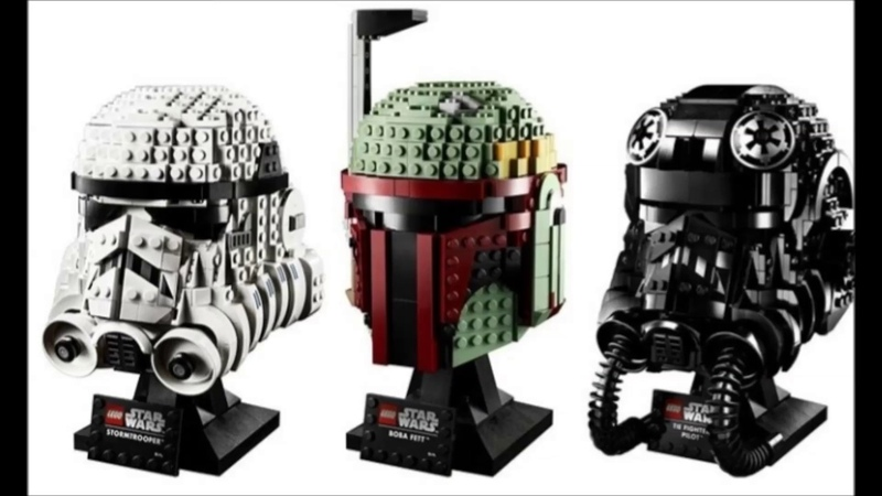 NEW Lego 76274 75276 75277 Star Wars busts