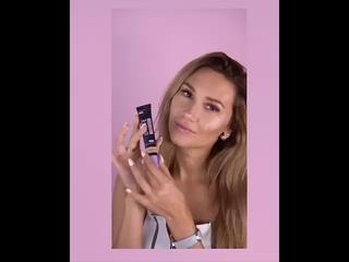 Реклама косметики Lilo - Каролина, главная роль