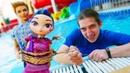 Детское видео шоу В Аквапарке пропадают игрушки Что с героями Акватим Новые игры онлайн
