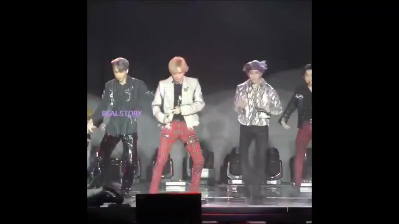 SuperM - Jopping (TAEMIN focus) @ Live From Capitol Records in Hollywood 20191005