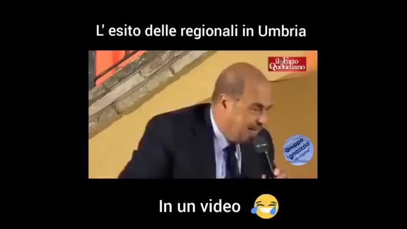 L esito delle elezioni in Umbria in 30 secondi 😂.mp4