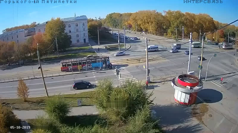 Невнимательный водитель сбил 81-летнего пенсионера в Челябинске